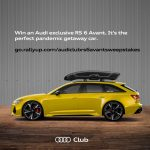 Audi RS6 Sweepstakes - Support your Chicagoland Chapter!