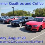 Registration is open for our Summer Quattros and Coffee