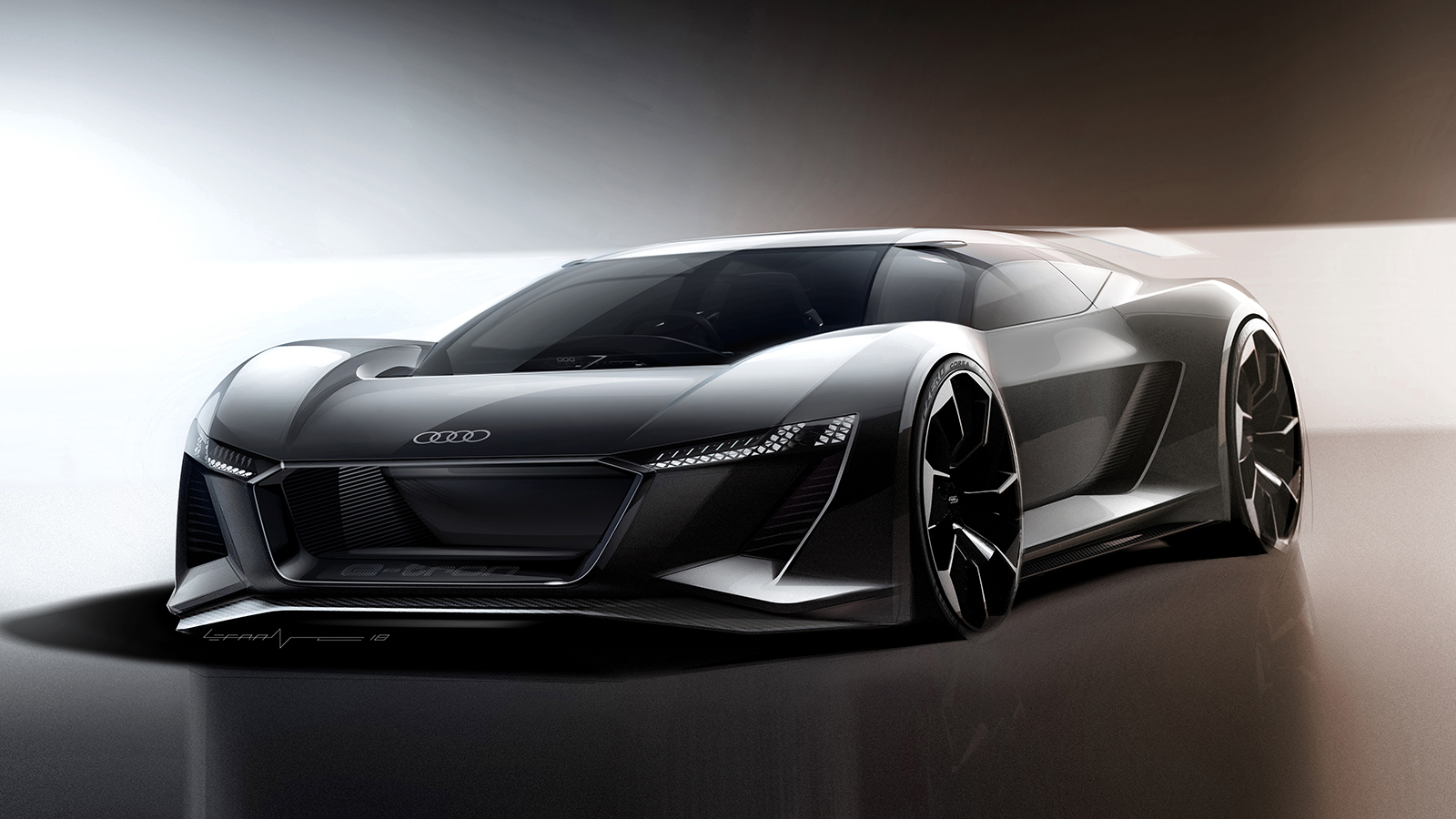audi pb 18 e tron concept car 4527 e tron connect. Black Bedroom Furniture Sets. Home Design Ideas