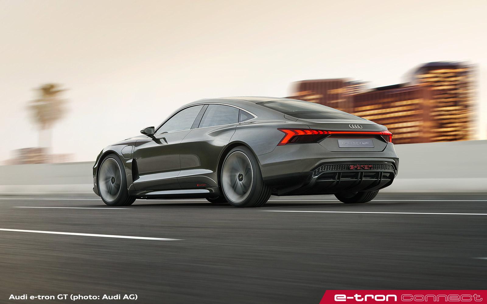 Audi e-tron GT: Four Door Electric Gran-Turismo - e-tron ...