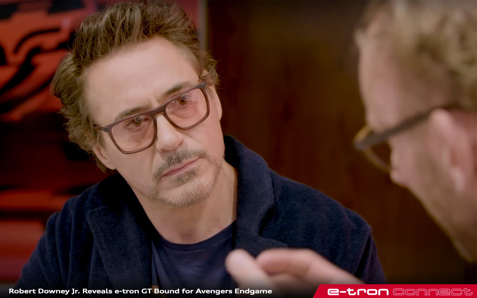 Robert Downey Jr Avengers Endgame Audi 431 E Tron Connect
