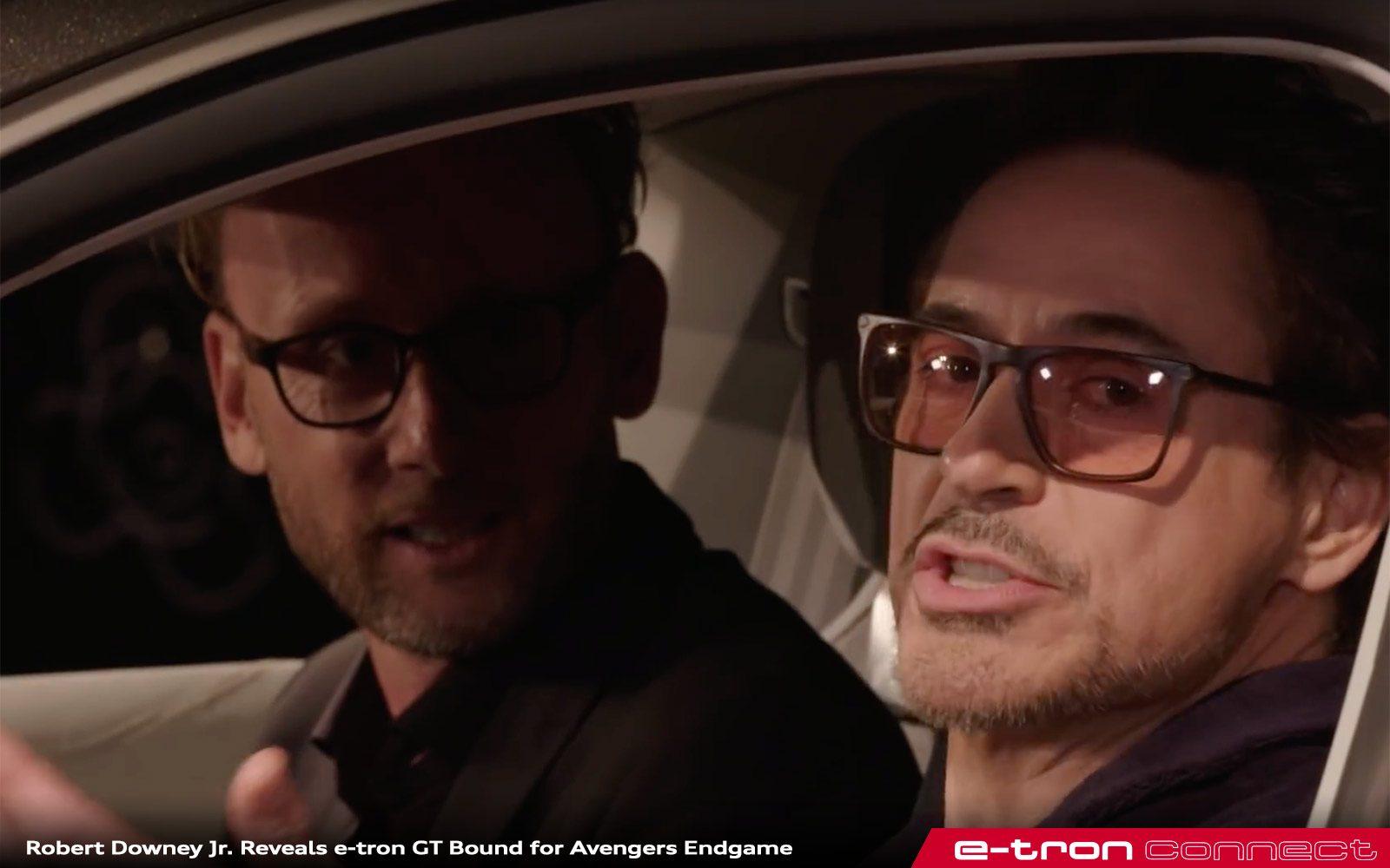 Robert Downey Jr Leaks E Tron Gt Placement In Avengers Endgame