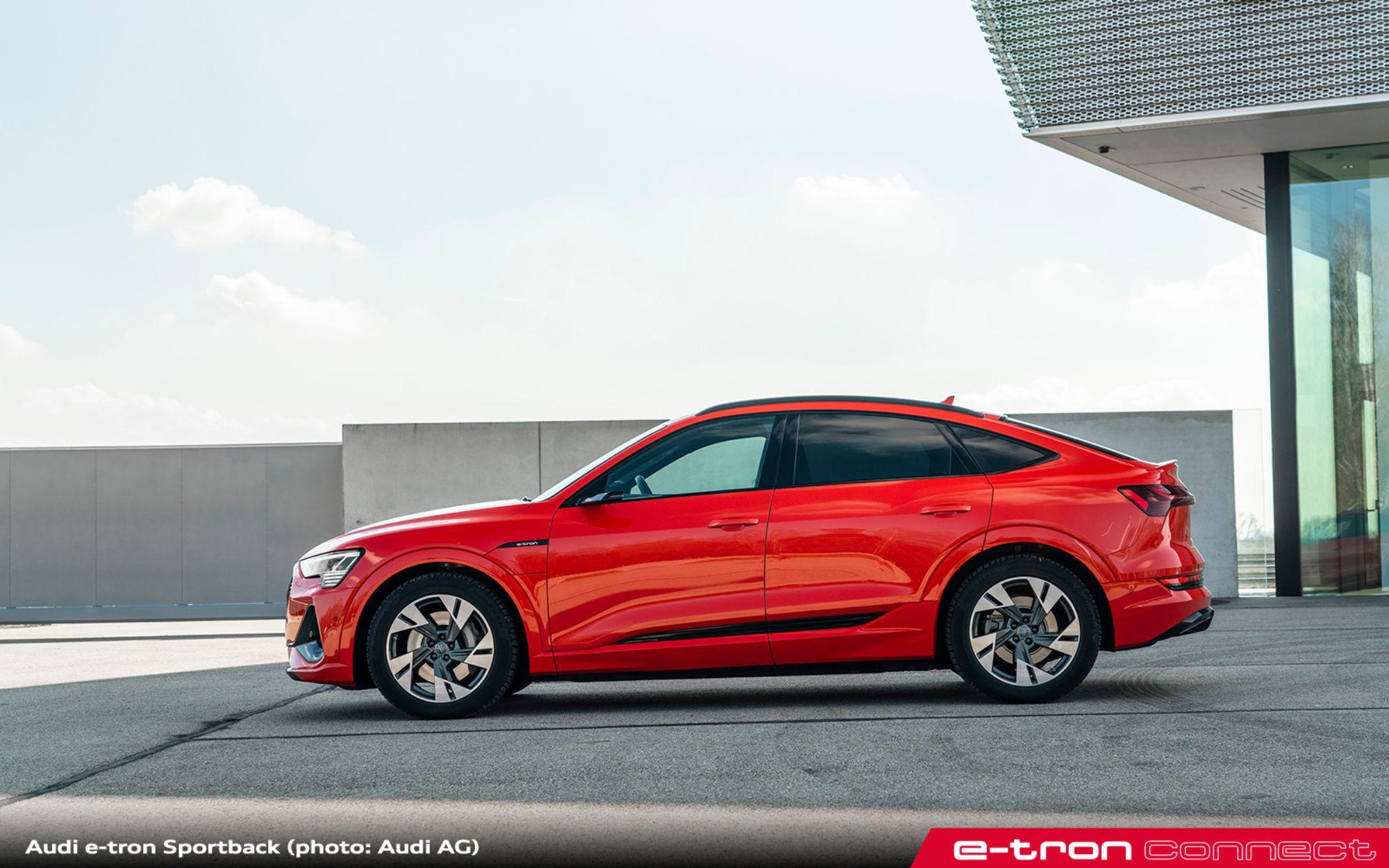 SUV Coupé for the e-tron Family: The Audi e-tron Sportback ...