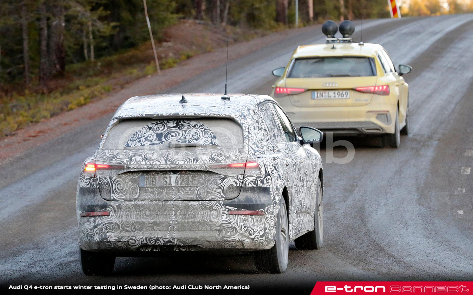 Audi Q4 e-tron Sweden 15 - e-tron connect