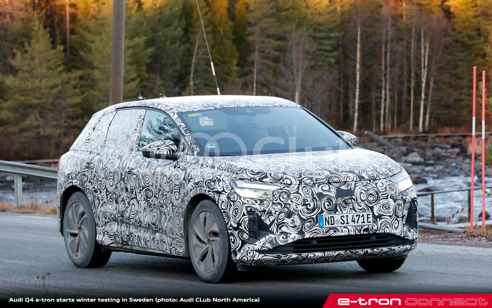 Audi Q4 e-tron Sweden 2 - e-tron connect