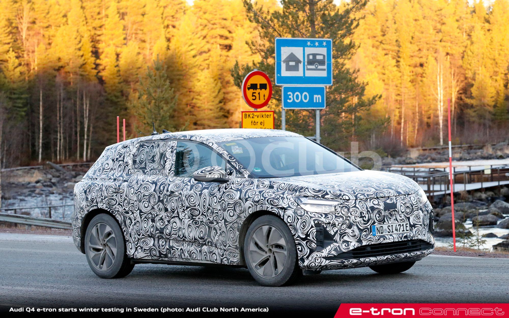 Audi Q4 e-tron Sweden 4 - e-tron connect