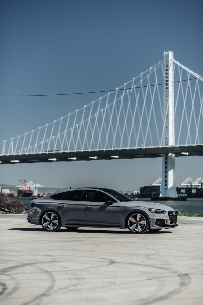 RS5 Sportback with Bay Bridge