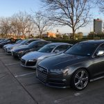 Audi Club Lone Star Drives to Brenham, Texas for Lunch at the Airport, March 13, 2016