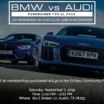 AUDI VS. BMW Fundraiser for El Paso
