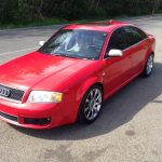 Red 2003 RS6 for sale (83K miles) -- Seattle