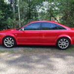 2003 Red Audi RS6 for sale -- $15,000