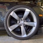 Set of 4 New OEM Audi A7/S7/RS7/A8/S8 Wheels & Tires--Great Summer Performance!
