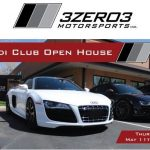 Open House at 3Zero3 Motorsports, Thursday, May 11th