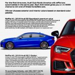 BUY YOUR TICKET NOW FOR 2019 AUDI CLUB RAFFLE