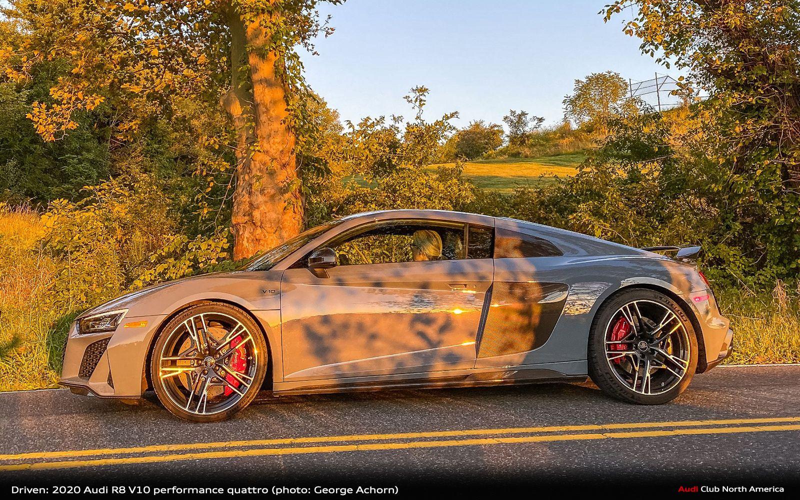 Driven 2020 Audi R8 V10 Performance Quattro 88 Audi Club North America