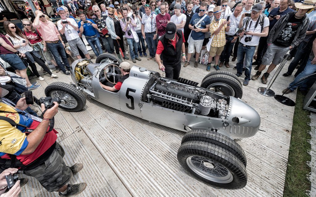 Goodwood Festival of Speed: Who's Driving What